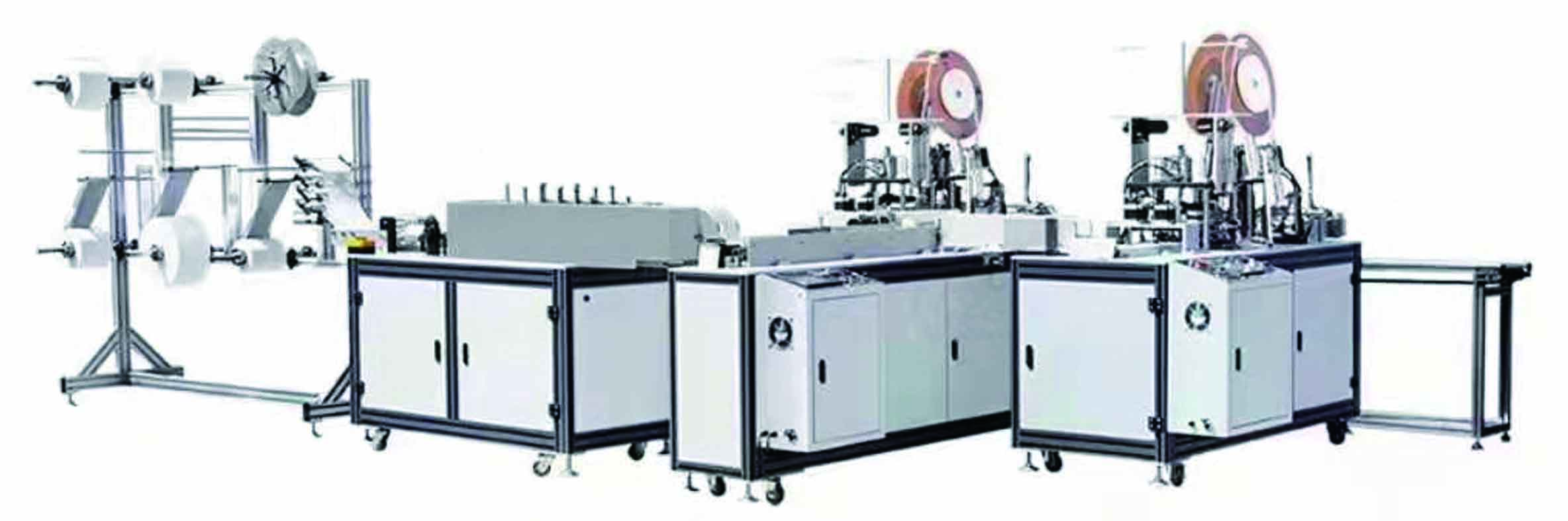 Sugical Mask machine medical mask production line supplier suzhou China