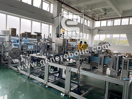 Surgical disposable face mask production line- suzhou gene automation